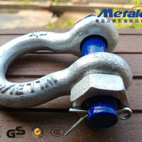 US Type Galvanized Marine Metal Shackles