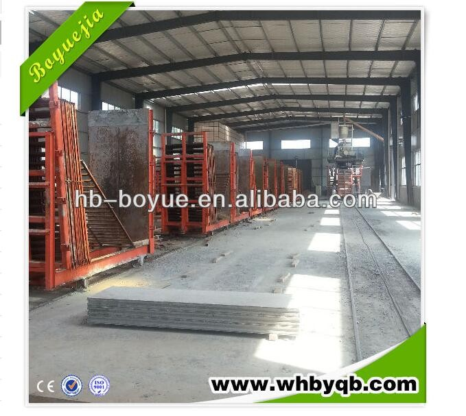 China supplier structural lightweight wall panel making machine