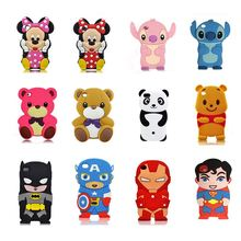 cartoon animals monster super series Bear/panda/monkey soft silicone case For Ipod touch4