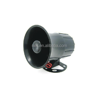 2016 cheap black plastic and metal vehicle speaker horn manufacturer in guangzhou