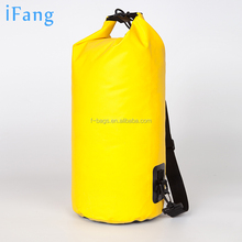 5L 10L 20L Durable outdoor Tarpaulin waterproof dry bag for climbing , swimming