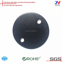 Custom Round Shaped Professional Custom Metal Side Cover