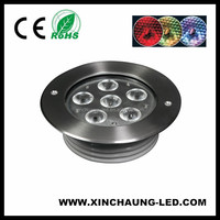 6w 12w 18w Led Ground Landscape Light Outdoor Waterproof In Underground Garden Buried Lamp Ac 85-265v