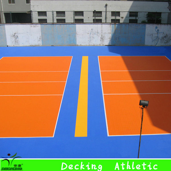 Hot Sale Multi-use Suspended PP Interlocking Sports Tennis Flooring