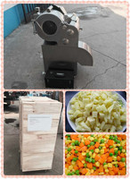 root vegetable cutting machine/vegetable dicer for potato