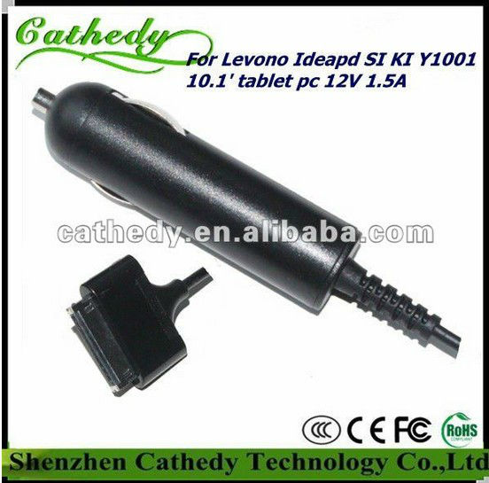 Car Charger Vehicle Auto Battery Power Charge For Lenovo IdeaPad Tablet K1 New