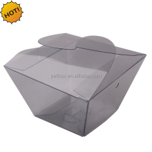Chinese factory Plastic PET PVC PP Clear acetate box for health care products