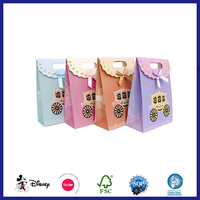 Bulk personalized new ribbon tie gift bags for T-shirt