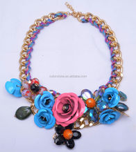 Advanced Design Shourouk Necklace Wholesale 2014 Newest Shourouk necklace High quality Flower Necklace