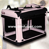 Pink Dog Soft Crate, High Quality Pink Dog Soft Crate