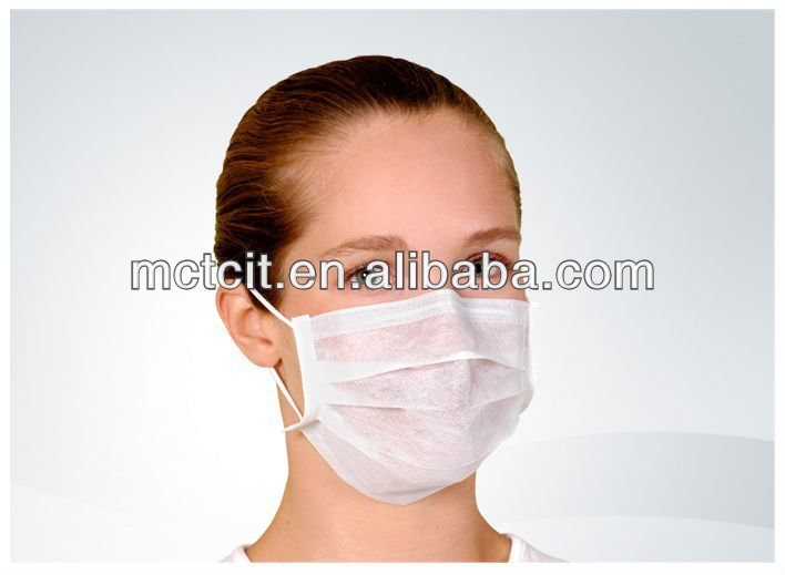 dental supply sanitation disposable pp nonwoven face mask