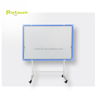"Riotouch 82"" Plastic IR Multi Touch Interactive Whiteboard for Sale Electronic Smart Board Education Teaching Board"