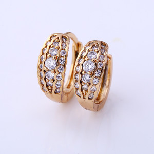 25010 Xuping latest design 18k gold ear cuff earrings