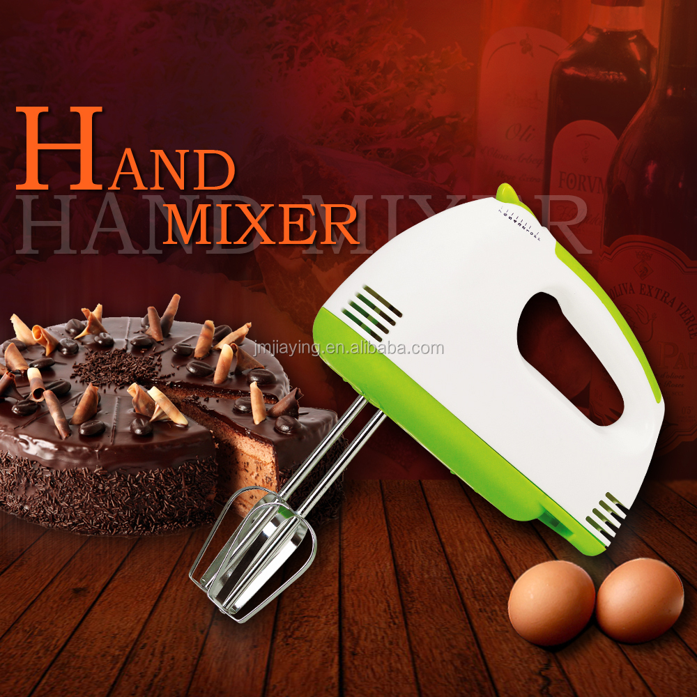 Factory Price 3.4usd 150W Hot Sell 7 Speeds Plastic Electric Hand Mixer Egg Mixer