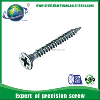 Bugle head phillips cross recessed galvanized self tapping screws