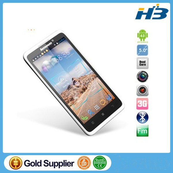 5.0'' Lenovo S890 MTK6577 1.2GHz Dual Core 0.3MP/8MP Dual SIM android mobile phone 1gb ram