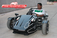 Wonderful ZTR Trike Roadster 300cc Zongshen Engine TR2501 Made in China