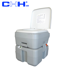 camping portable toilets 20L with rotating emptying spout