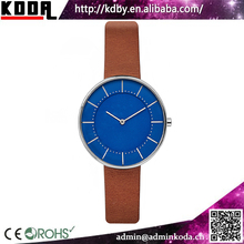 blue dial french luxury brand japan mov't stainless steel woman watches