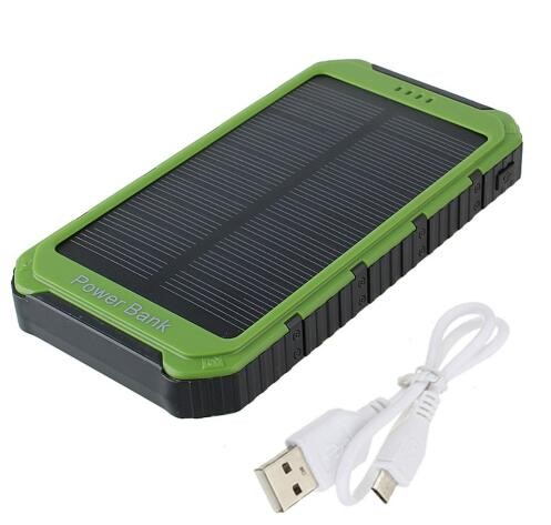 Explosion Models Sports Solar Panels Waterproof Solar Phone Charger 10000mah