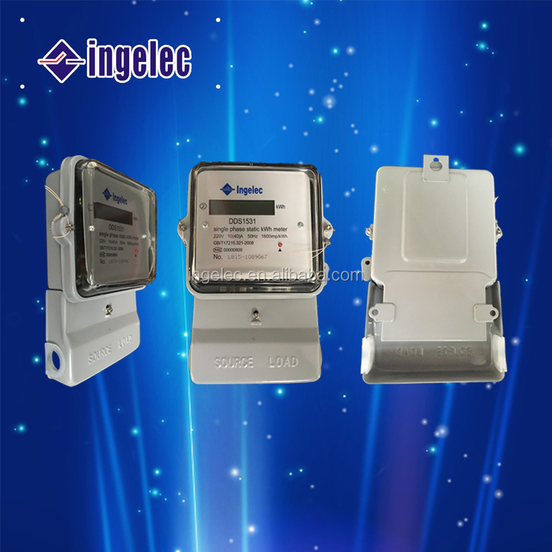 220V10-20A Single Phase kWh meter Electric energy meter Prepaid electric meter smart electric meter