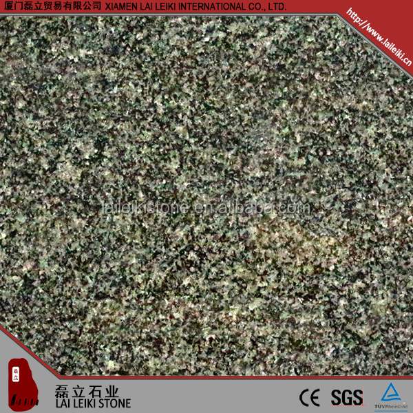 Unique properties natural stone African-impala dye black granite