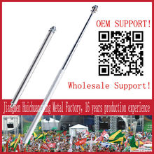 retractable flag poles