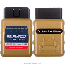 New Scania AdBlue Emulator diagnostic tool supported EURO 4/5/6 Adblue OBD2 for Scania plug and drive device