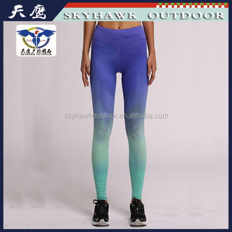 Modern Chinese Polyester Spandex Tight Yoga Pants