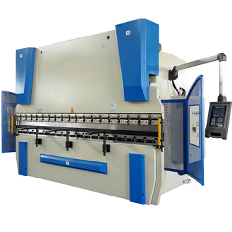 Hydraulic metal cutting and bending machine