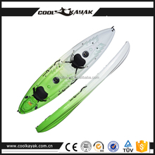 Cool kayak double sit-on-top fishing sea kayak