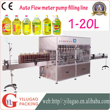 Automatic Linear flow meter Edible oil bottle filling machine 1 to 5 to 20Liters China Guangzhou