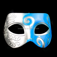 Wholesale cheap half face plastic masquerade mask for party