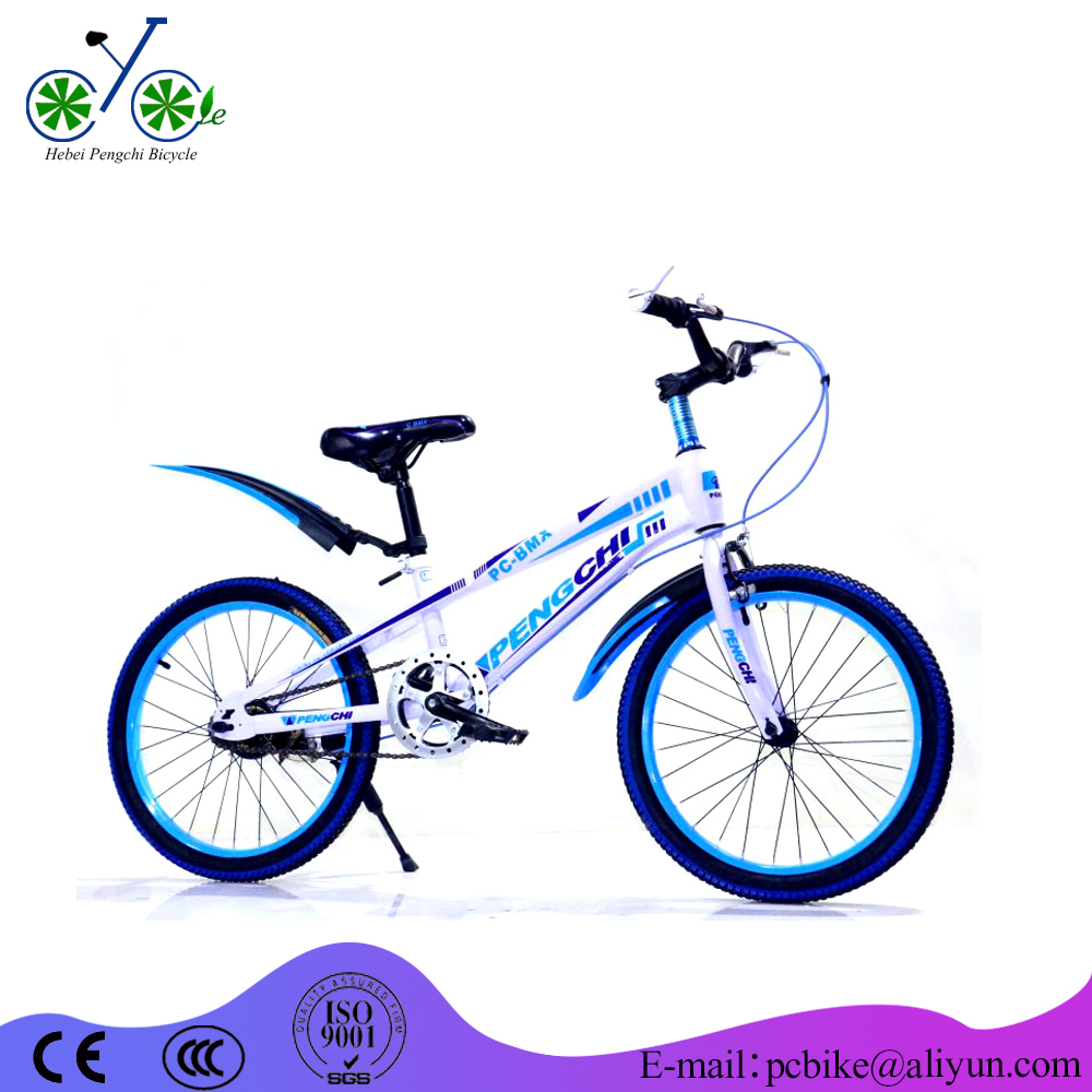 Import bikes china factory wholesale 4 wheel sport kids bike 14 inch