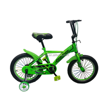 High Quality Children Bicycle 16-inch Front V Brake Kid's Bicycle With Protective Wheels Steel Fork Kids Bike