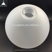 frosted glass ball lamp cover/blown glass ball