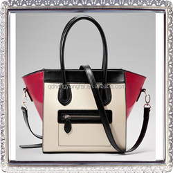 Popular women bags handbags Qingdao, smile small leather bags