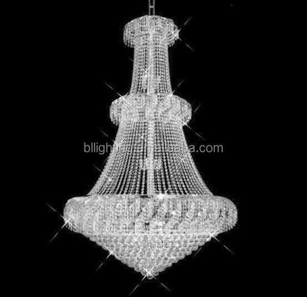 Clear crystal luxury fancy led chandelier china
