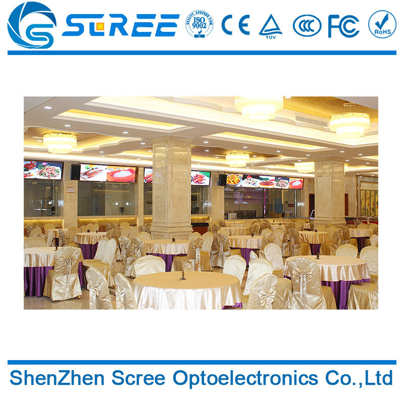 High quality Clear video rgb smd2121 indoor P3 led wall panel used in hotel