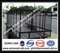 Galvanized trailer expanded metal size