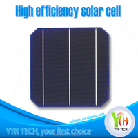 "2015 High Efficiency A grade 156mm x156mm Size 6"" Triple Junction Solar Cell paint best solar cell price for sale"