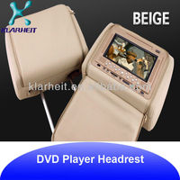 quality granulate Auto removable headrest dvd monitor