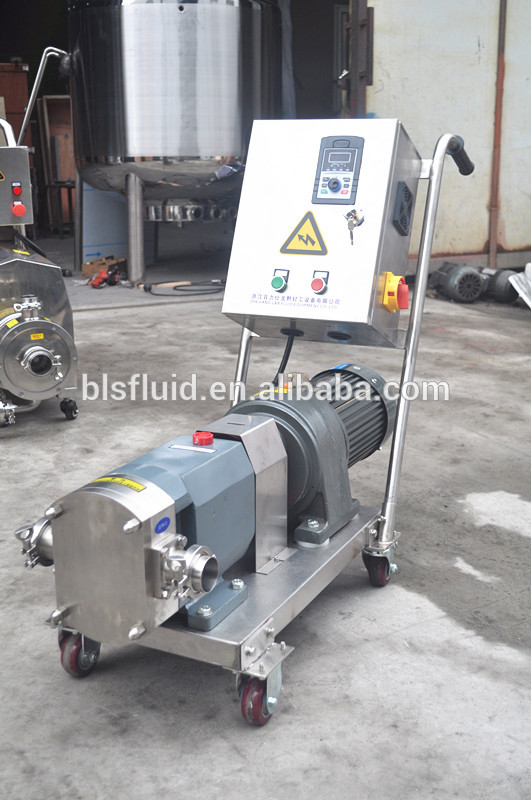 stainless steel 316L shampoo transfer pump