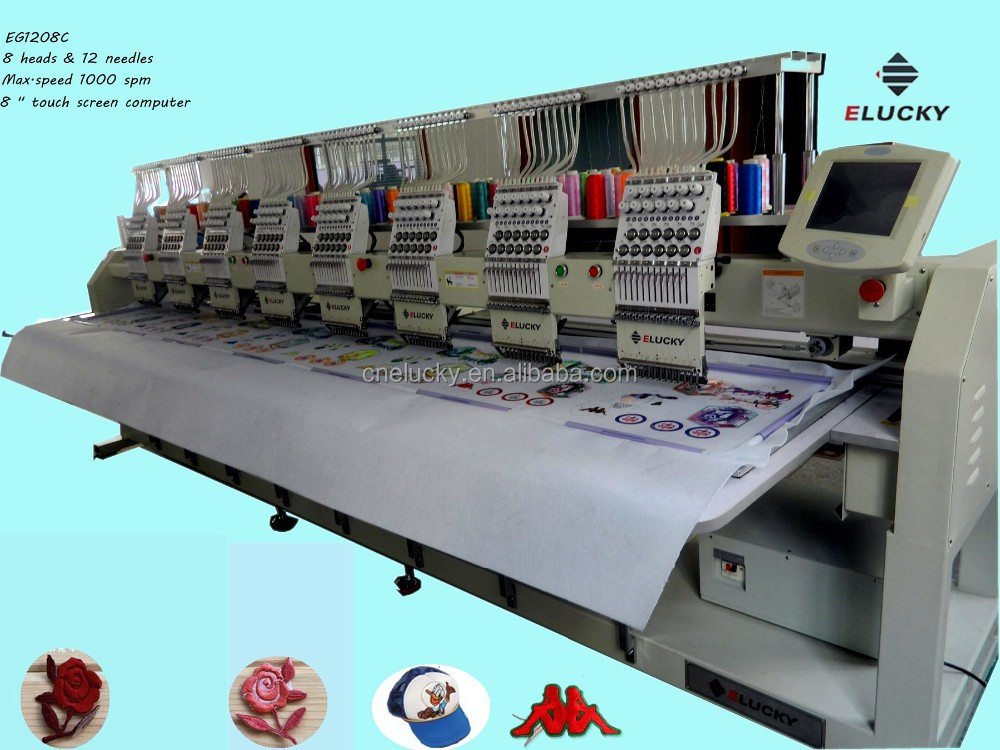 embroidery industrial machine