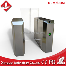 tempered glass swing barrier speed gate Access Top grade