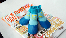 Pet outside Socks Waterproof Fashion Anti-Slip Boots For Small Puppies and Large Dog outdoor