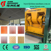 perforated sheet machine for gypsum board