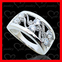 S925 sterling silver ring fashion jewellery for lovers