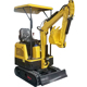 Chinese HH10 crawler mini excavator 1 ton small digger for sale