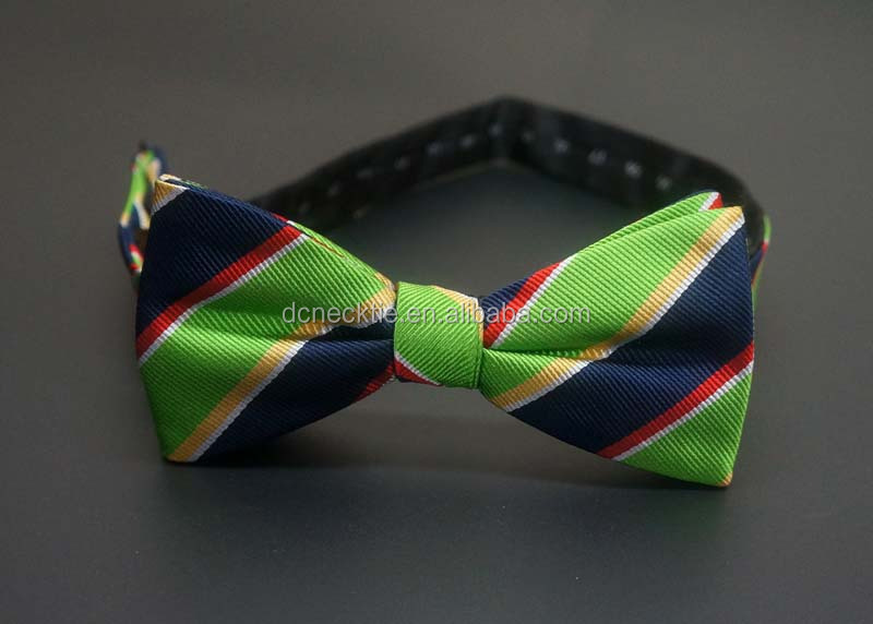 best quality silk woven fashion bowtie